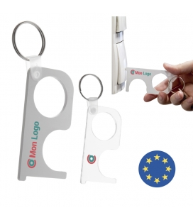 Porte clé de protection - NO TOUCH - Fabrication EUROPE