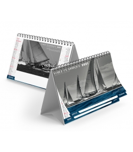 Calendrier chevalet 7 feuillets - VOILE