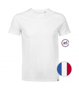 Tee-shirt homme col rond ATF LINO 130g/m² - Fabrication Française