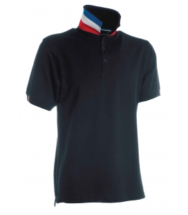 Polo France 210g pour homme NATION - PAYPER