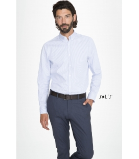 Chemise homme rayée SOL'S - BEVERLY MEN