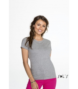 Tee-shirt femme col rond SOL'S - 190g/m² - IMPERIAL WOMEN