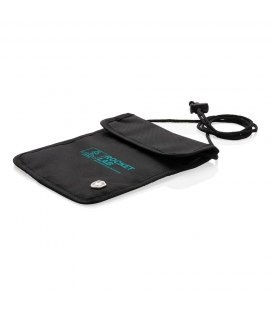Pochette Tour De Cou Anti RFID Swiss Peak