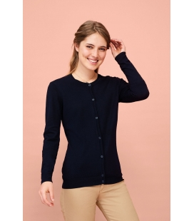 Cardigan femme col rond SOL'S GRIFFIN
