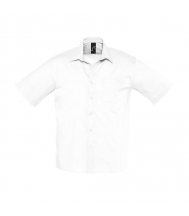 Chemise homme popeline manches courtes SOL'S BRISTOL