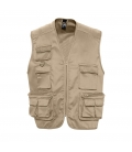Gilet reporter multipoches SOL'S WILD