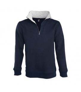 Sweat-shirt homme col camionneur (1/4 zip) SOL'S SCOTT